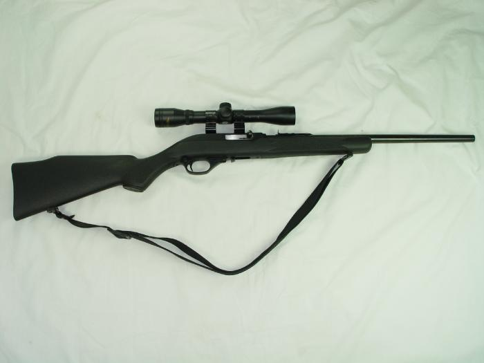 For Sale/Trade Prefer Trade. Mossberg 46A with Mossberg 8A Scope