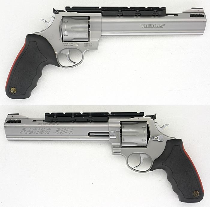 taurus 44 magnum revolver. TAURUS RAGING BULL 44 MAGNUM