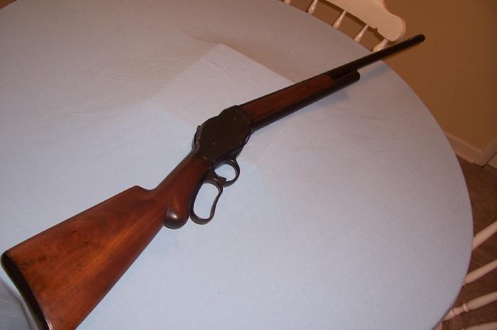 lever action shotgun. LEVER ACTION SHOTGUN