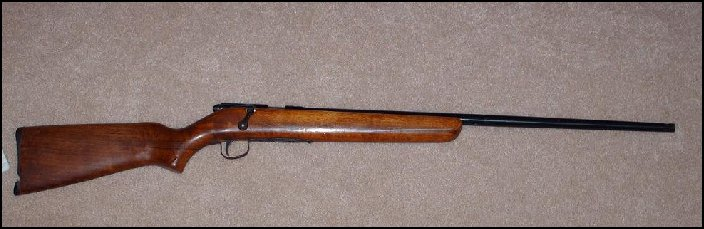harrington richardson plainsman .22 rifle