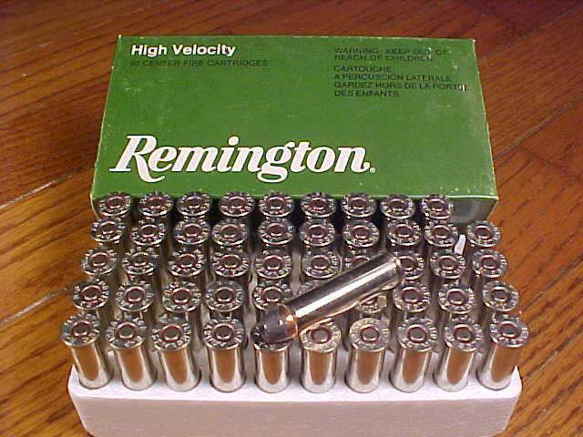 357 magnum ammo. Box of Remington .357 Magnum
