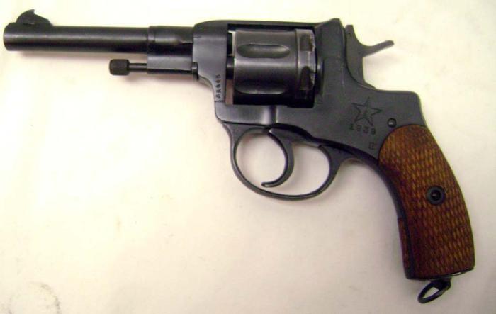 1895 Nagant Revolver 7.62